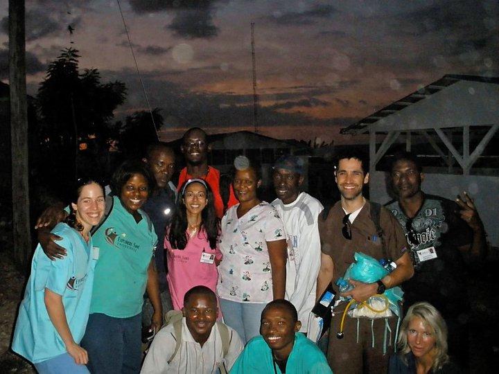 Haiti rain first trip